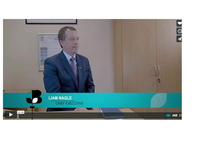 Liam Nagle, CEO- Interview with Northern Ireland Chamber of Commerce