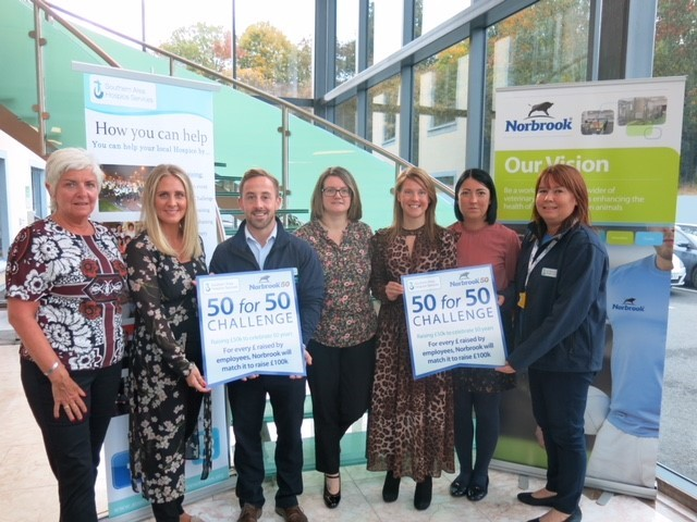 Norbrook and staff raise over £120,000 for Southern Area Hospice